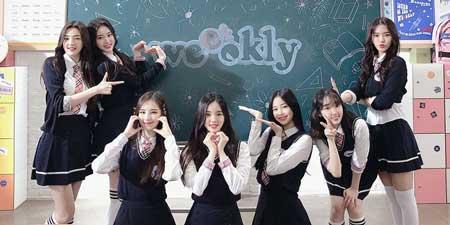 idol kpop terpopuler 2020 - Weeekly