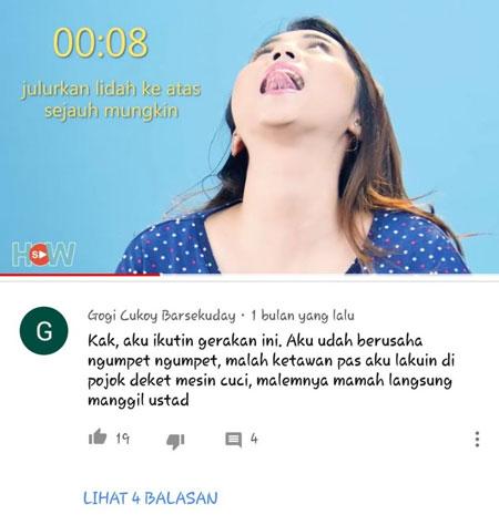 Berbagai Komentar Kocak Netizen Di Sosial Media