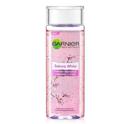 Merk Essence Yang Bagus - Garnier Sakura White Pinkish Radiance Essence Lotion
