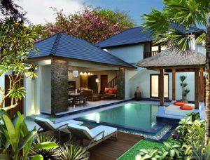 inspirasi desain rumah ala villa bali yang nyaman dan asri