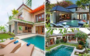 Desain rumah ala Villa Bali