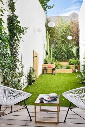 Inspirasi Desain Taman Belakang Rumah Untuk Lahan Yang Sempit