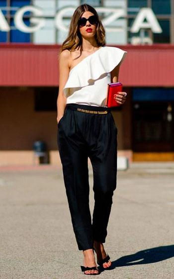 Inspirasi OOTD Celana Baggy Yang Kekinian