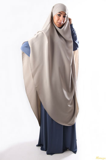 Jenis-Jenis Jilbab - Jilbab Cape