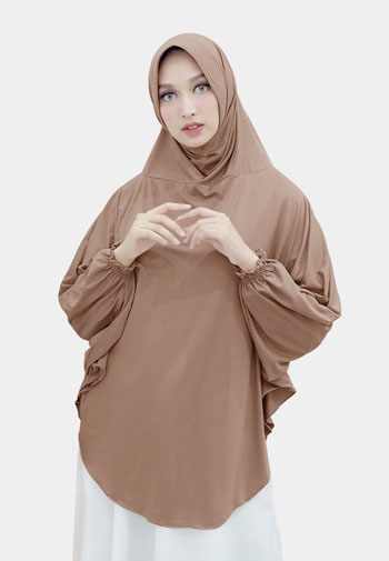 Jenis-Jenis Jilbab - Jilbab Lengan