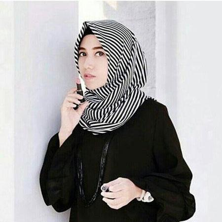 Jenis-Jenis Jilbab - Jilbab Monochrome