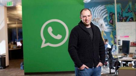 Kisah hidup Jan Koum, pendiri WhatsApp