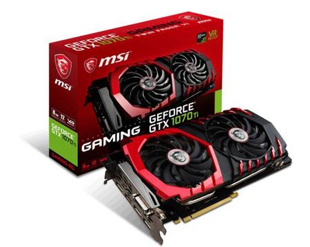 Rekomendasi VGA Terbaik 2020 Yang Pas Untuk Gaming - MSI Gaming GeForce GTX 1070 Ti
