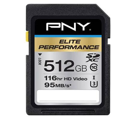 Rekomendasi Merk Memory Card Terbaik - PNY Elite Performance Class 10 U3 512 GB