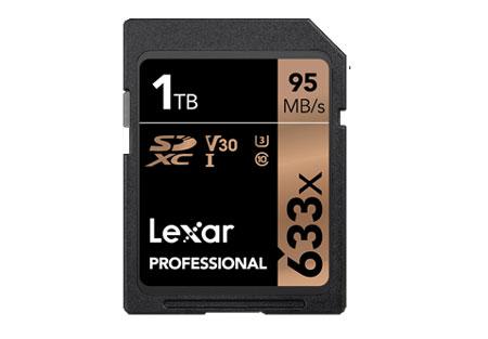 Rekomendasi Merk Memory Card Terbaik - Lexar Professional 633x 1TB