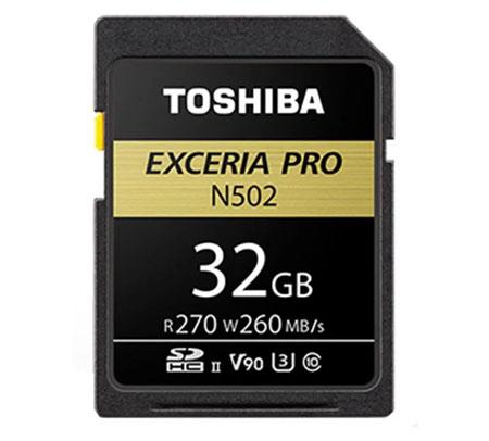 Rekomendasi Merk Memory Card Terbaik - Toshiba Exceria Pro N502 32 GB