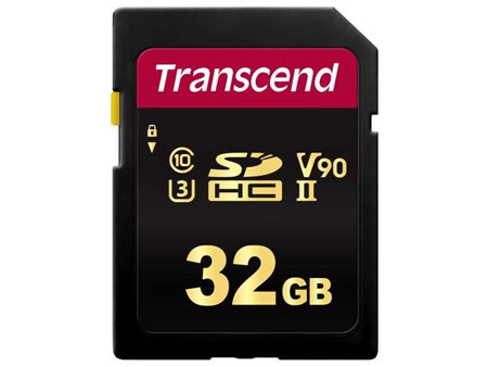 Rekomendasi Merk Memory Card Terbaik - Transcend SDHC 700S UHS-II U3 32 GB