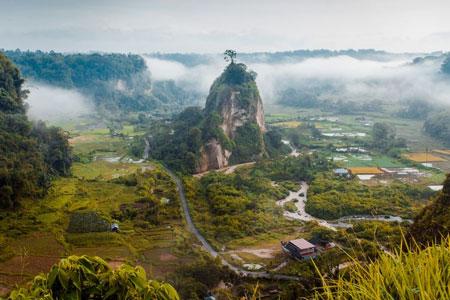 Tempat wisata alam terbaik di Indonesia