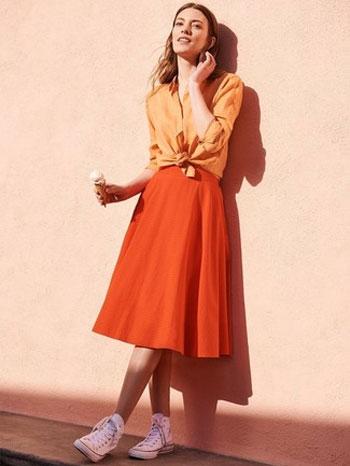 Karakter Cewek Berdasarkan Warna Favorit - Orange