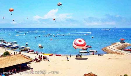 15 Pantai Terbaik dan Terindah di Bali - Pantai Tanjung Benoa
