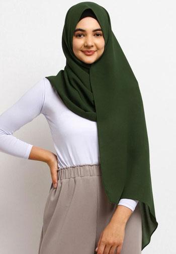 Jenis-Jenis Jilbab - Pashmina (Jilbab Persegi Panjang)