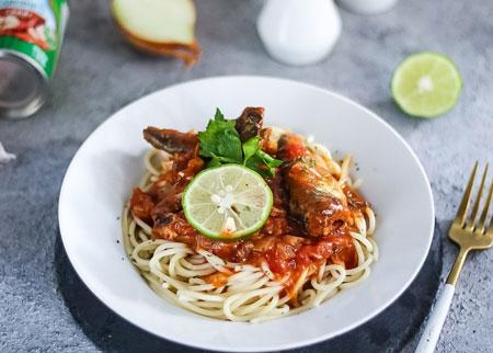 Aneka Resep Pasta - Resep Pasta Spaghetti Sarden