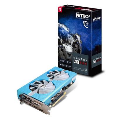 Rekomendasi VGA Terbaik 2020 Yang Pas Untuk Gaming - Sapphire Nitro Radeon RX 580