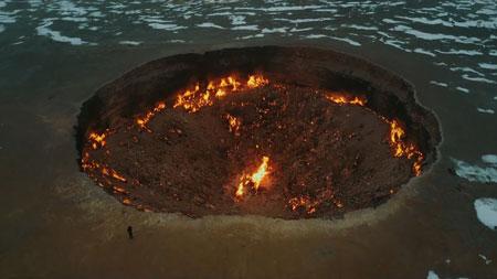 Fakta Darvaza Gas Crater di Turkmenistan