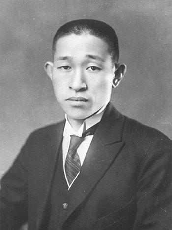 Konosuke Matsushita muda