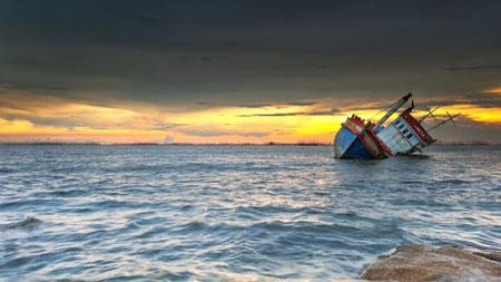 Laut Paling Berbahaya di Dunia