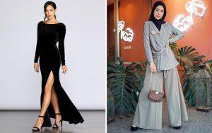 Outfit Kondangan Wanita Kekinian