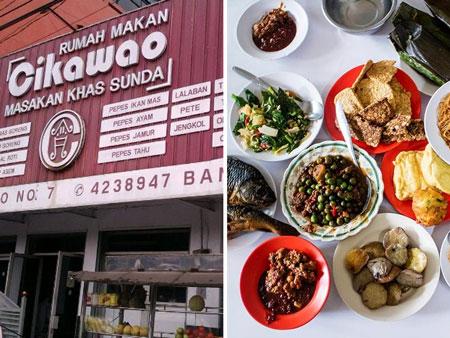 Tempat Makan Sunda Terbaik di Bandung