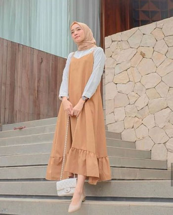 Inspirasi Mix and Match Maxi Dress