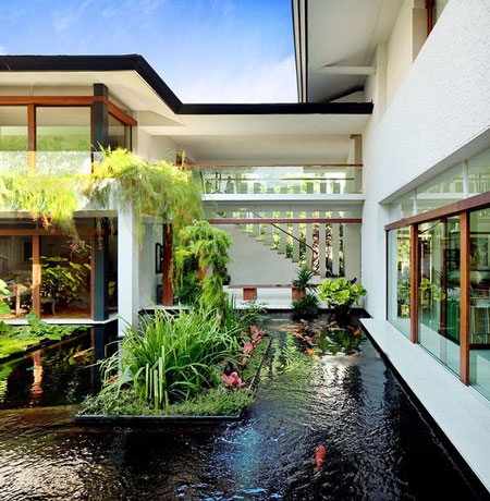 Inspirasi Desain Rumah Bernuansa Tropis