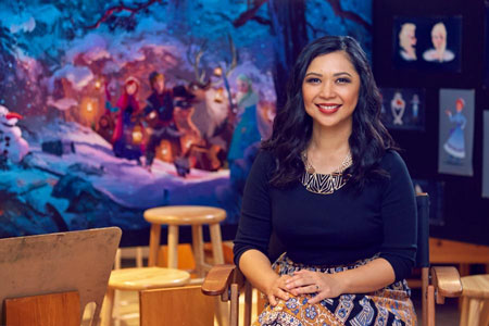 Deretan Orang Indonesia yang Bekerja di Disney