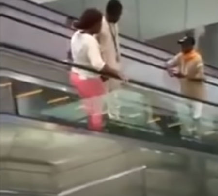 Video Viral Pembukaan Mall Pertama di Kamerun