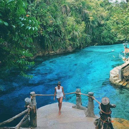 Fakta menarik Hinatuan Enchanted River Filipina
