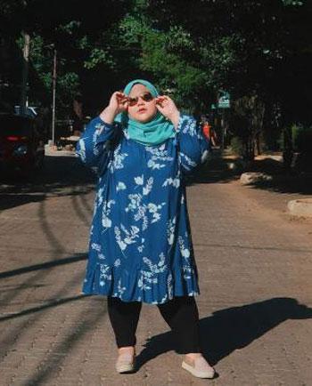 Inspirasi OOTD Untuk Wanita Bertubuh Gemuk