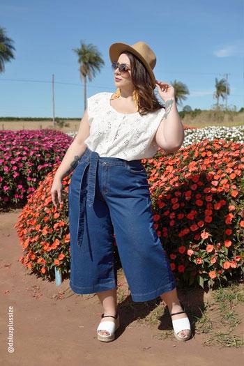 Ide Outfit Untuk Wanita Bertubuh Gemuk