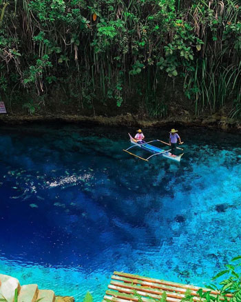 Fakta menarik Hinatuan Enchanted River Filipina