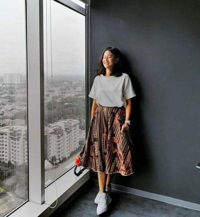 Artis Indonesia Dengan OOTD Terbaik