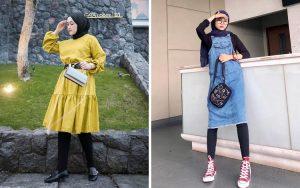Inspirasi Legging Wudhu dan Hijab Kekinian