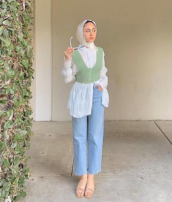 Mix and Match Baju Hijab Kekinian Untuk Hangout