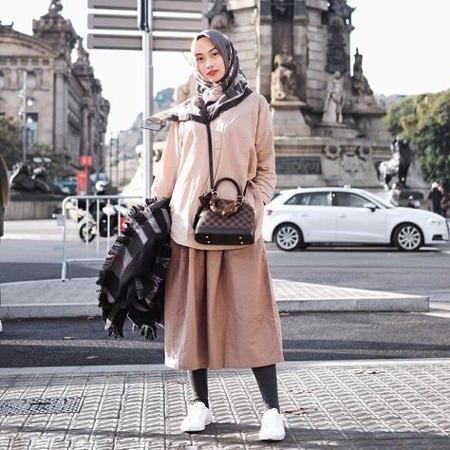 Inspirasi Legging Wudhu dan Hijab untuk Tampil Kekinian