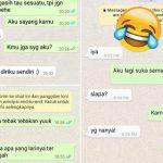 chat lucu cinta ditolak