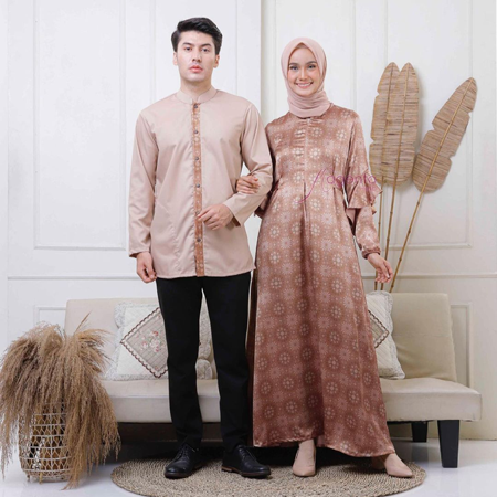 Inspirasi Baju Couple Lebaran