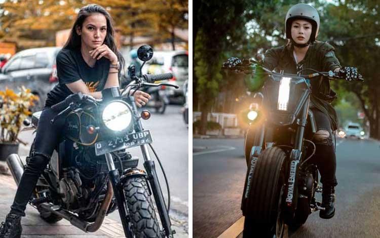 Artis Cantik Indonesia Yang Hobi Naik Motor