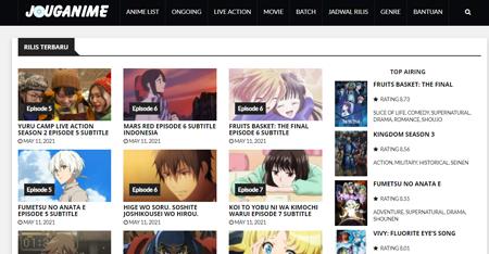 Situs Streaming Anime Sub Indo Terbaik