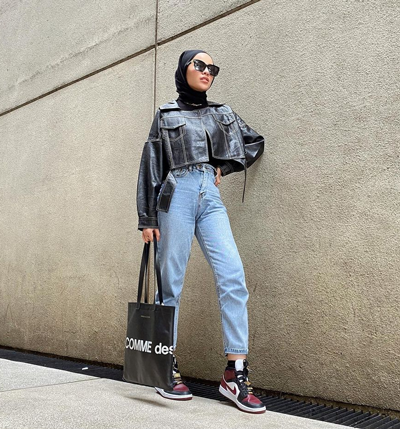 Inspirasi OOTD Hijab Kekinian