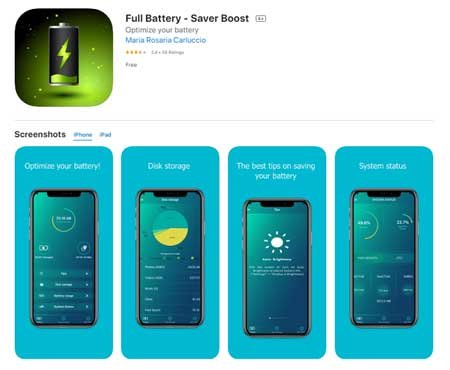 Aplikasi Penghemat Baterai iPhone