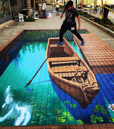 Deretan 3D Street Art Paling Keren Di Dunia
