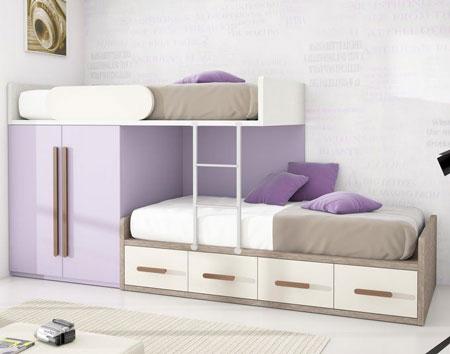 Inspirasi Desain Tempat Tidur Tingkat Yang Simple