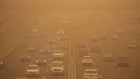 Video Mengerikannya Badai Pasir di China