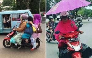 Kelakuan Emak-emak di Jalan yang Bikin Elus-elus Dada