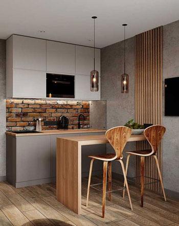 Inspirasi Mini Bar Dapur Kecil, Minimalis Dan Modern